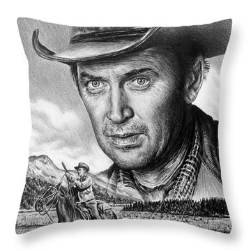 The Far Country Throw Pillow