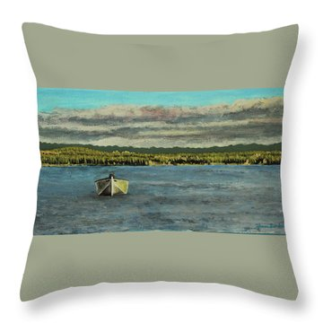 The Far Shore Throw Pillow