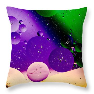 The Far Side Moons Throw Pillow by Bruce Pritchett