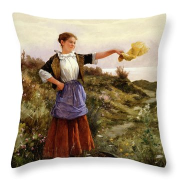 The Farewell Throw Pillow