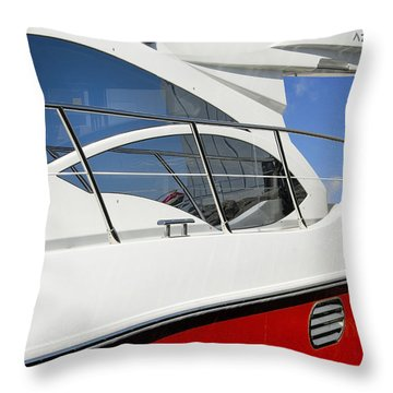 The Fast Lane Throw Pillow by Robert Lacy
