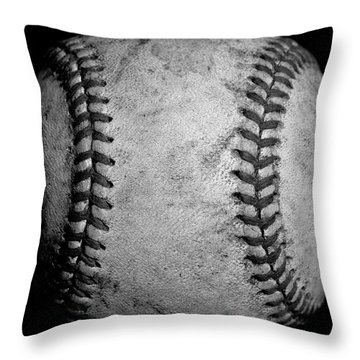 Throw Pillow featuring the photograph The Fastball by David Patterson