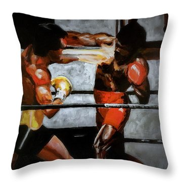The Favor Throw Pillow