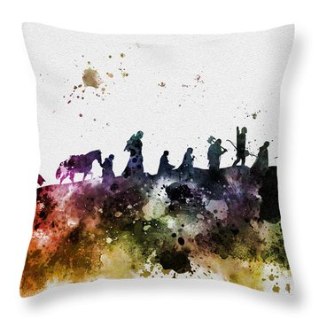 The Fellowship Throw Pillow