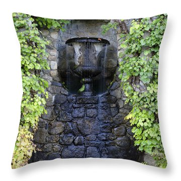 The Fells Historic Estate - Newbury Nh Usa Throw Pillow by Erin Paul Donovan