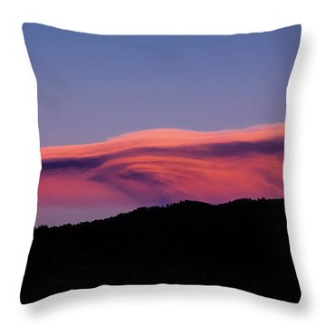The Ferengi Cloud Throw Pillow