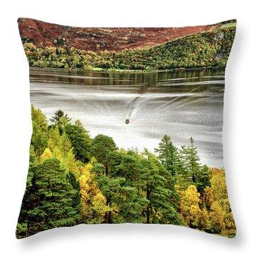 The Ferry Throw Pillow