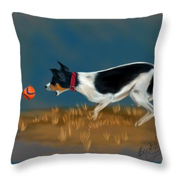 The Fetch  Throw Pillow