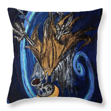 The Fffallen Angel Throw Pillow
