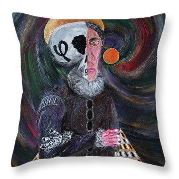 The Fffather Throw Pillow