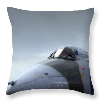 The Fifty Year Old Lady  Throw Pillow by Angel  Tarantella