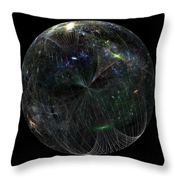 The Finite Universe Throw Pillow
