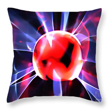 The Fire Within Throw Pillow by Clayton Bruster