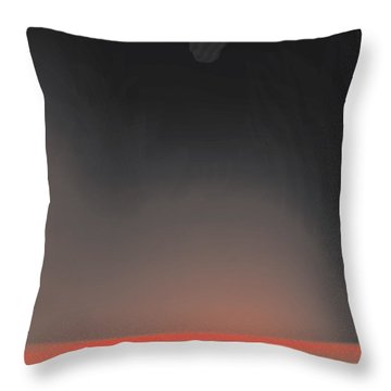 The Fires Throw Pillow