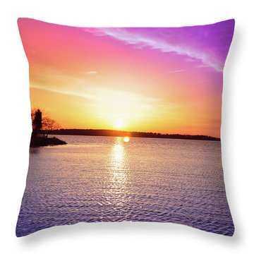 The First Day Of Spring Throw Pillow by Bill Cannon