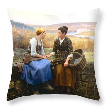 The First Grief Throw Pillow