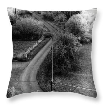 The First Morning Of The First Day Throw Pillow