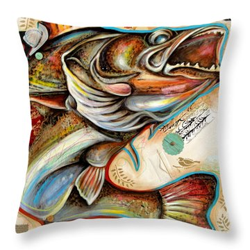 The Fish Throw Pillow