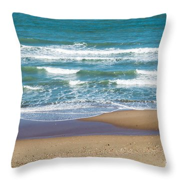 The Fishing Pole Throw Pillow