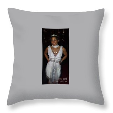 The Fit Goddess Throw Pillow