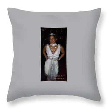 The Fit Goddess Throw Pillow