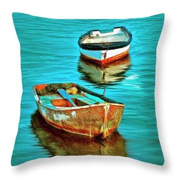 The Fleet Throw Pillow