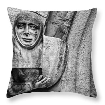 Throw Pillow featuring the photograph The Floating Guard by Christi Kraft