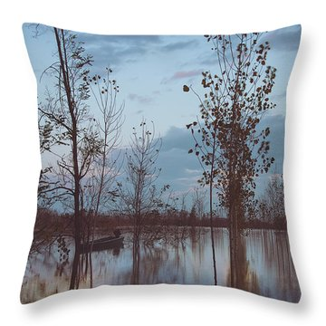The Flood Throw Pillow