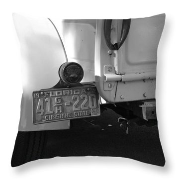 The Florida Dodge Throw Pillow by Rob Hans