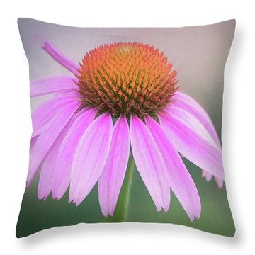 The Flower At Mattamuskeet Throw Pillow