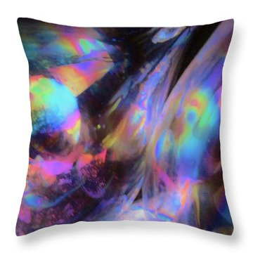 The Fluidity Of Time And Space Throw Pillow