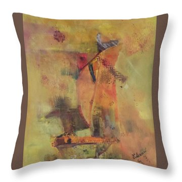 The Flying Dutchman Throw Pillow