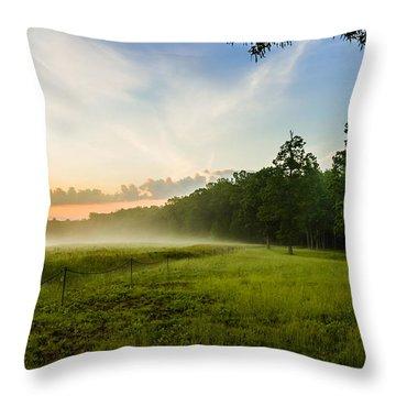 The Fog Of War Throw Pillow