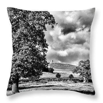Old John Bradgate Park Throw Pillow