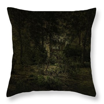 Throw Pillow featuring the photograph The Folly by Ryan Photography