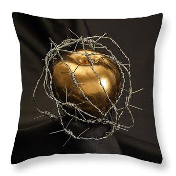 The Forbidden Fruit Throw Pillow