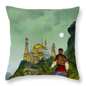 The Forbidden Palace Throw Pillow by Richard Hescox