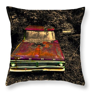 The Ford Throw Pillow