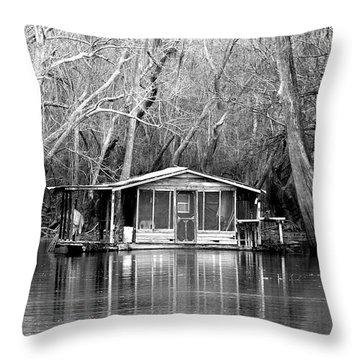 The Forgotten Throw Pillow by Debra Forand