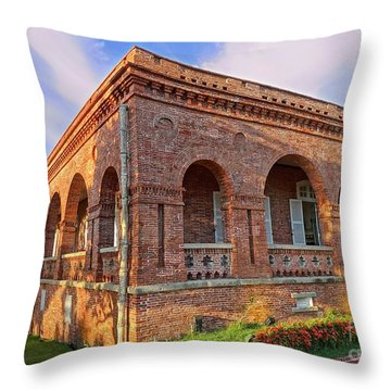 Throw Pillow featuring the photograph The Former British Consulate In Kaohsiung In Taiwan by Yali Shi