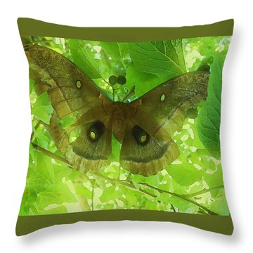 The Fourth Day-a Dying Giant.. Throw Pillow