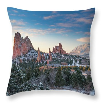 Throw Pillow featuring the photograph The Fourth Season by Tim Reaves