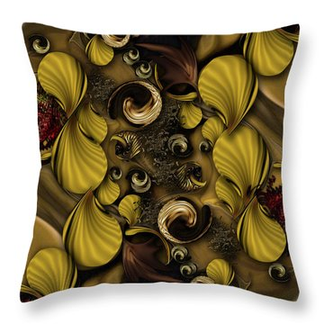 The Framed Poetry Throw Pillow