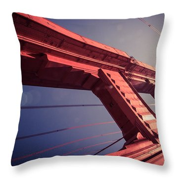 The Free Falling Throw Pillow