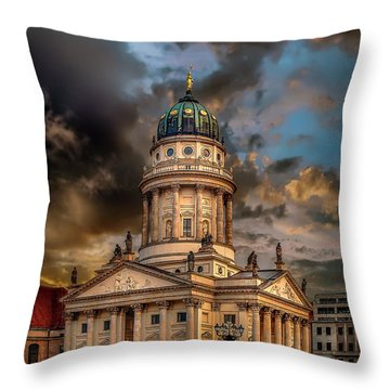 The French Church 3 Throw Pillow