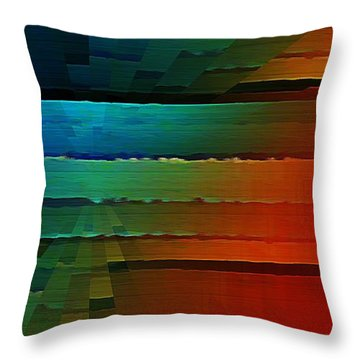 The Front Throw Pillow