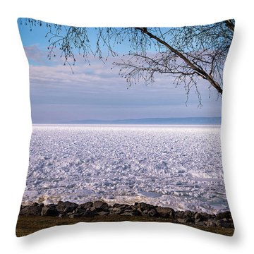The Front Is Coming Throw Pillow by Onyonet  Photo Studios