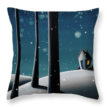 The Frost Throw Pillow