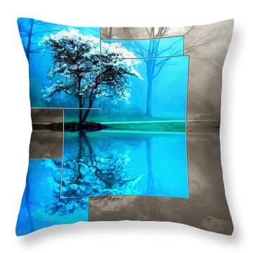 The Frosting On The Tree Throw Pillow