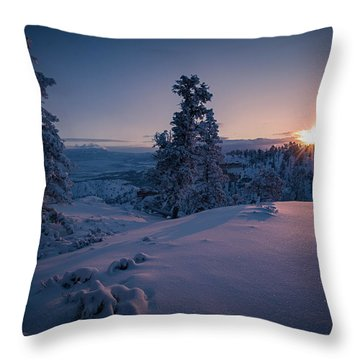 The Frozen Dance Throw Pillow
